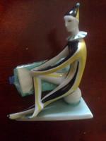 Zsolnay : art deco, Labdán ülő bohóc figura