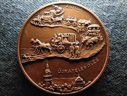 Orosháza 1744-1994 bronz érem (id51950)