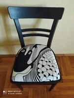 Felújított retró szék