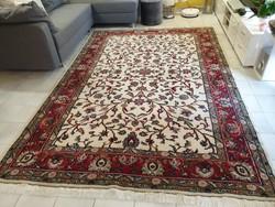 Iráni tabriz 200x300 kézi csomózású gyapjú perzsa szőnyeg ingyen posta MM_726