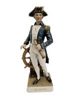 Captain Drake porcelain sculpture