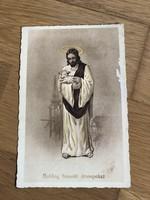 Boldog Húsvéti Ünnepeket - 1940 -es évekbeli képeslap