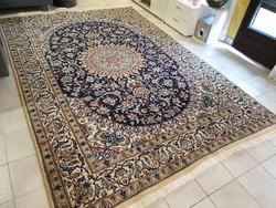 Álomszép nain 195x290 kézi csomózású gyapjú perzsa szőnyeg MM_727