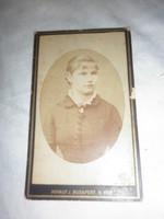 Antik keménytáblás hölgy fotó