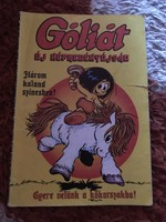 Góliát kalandjai képregény 1986/1  Góliát kalandjai képregény 1986/1