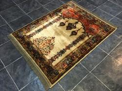 PERZSA mintás műselyem szőnyeg - Tisztítva, 95 x 128 cm