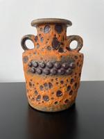 Retro - MCM fat lava váza