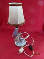 Kerámia Iparművész KSZ - Hal formájú mázas kerámia lámpa.