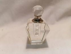 Kristály parfümtartó