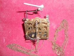 Német kakukkos óra szerkezet