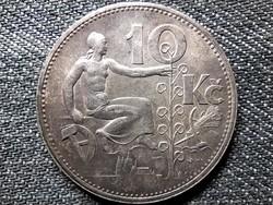 Csehszlovákia .700 ezüst 10 Korona 1932 (id49270)