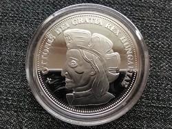 Királyi Koronák Utánveretben Ottó 5 korona .999 ezüst PP (id23501)