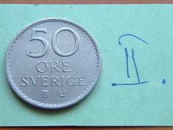 SVÉDORSZÁG 50 ŐRE 1968  II.