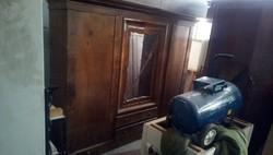 Biedermeier hálószoba szekrény