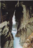 Ausztria / Liechtensteinklamm / képeslap