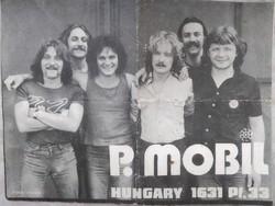 P.Mobil dedkált szövegkönyv aláírás 1979