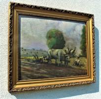 Zombory Lajos (Szeged, 1867. január 9. – Szolnok, 1933. november 18.) festőművész alkotása.