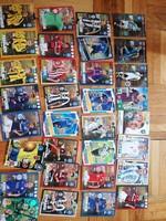 Focis kártyák eladóak egyben 109 db !