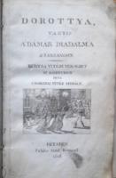 CSOKONAI VITÉZ MIHÁLY: Dorottya (1816-os kiadás, 2 lap pótolt)