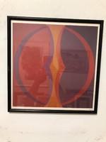 János Fajó (1937-2018) offset print