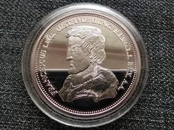 Királyi Koronák Utánveretben I. Ferenc 5 korona .999 ezüst PP (id23496)