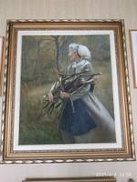 Czinege Zsolt festmény