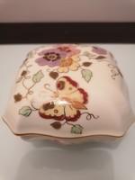 Zsolnay pillangós nagyméretű bonbonier