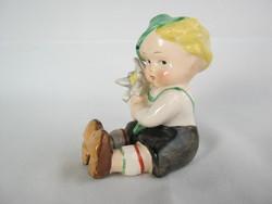 Hummel Goebel porcelán kisfiú