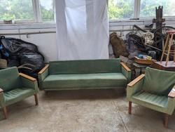 Retro ülőgarnitúra