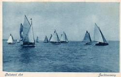 Ba 147 Körkép a Balaton vidékről a XX.század közepén .Jachtverseny (Monostory fotó)