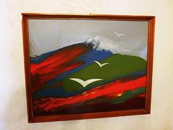 Póka György garantáltan eredeti festménye