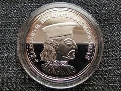 Királyi Koronák Utánveretben II. Károly 5 korona .999 ezüst PP (id23465)