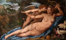 Vénusz lefegyverzi Ámort