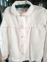 Édes hímzett szélű gyermek pizsama az 1970-es évekből - Páva női fehérneműgyár