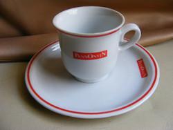 Retro Pannonvin zsolnay kávés csésze
