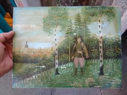 Régi katona kép