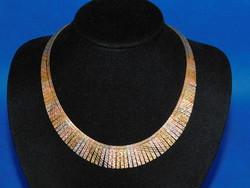 Sokszínű  Arany 14k nöi nyakék    35 gr