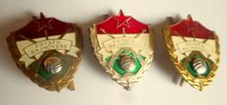 Egység bajnokság jelvény (bronz,ezüst,arany) egyben