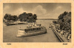 Ba 160 Körkép a Balaton vidékről a XX.század közepén Siófok - kikötő