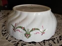 Hatalmas porcelán tál