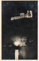Ba 163 Körkép a Balaton vidékről a XX.század közepén Esti Tihany (Karinger fotó)