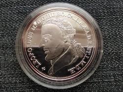 Királyi Koronák Utánveretben II. Lipót 5 korona .999 ezüst PP (id23471)
