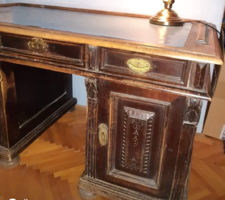 Antik íróasztal, ónémet íróasztal