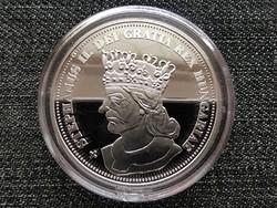 Királyi Koronák Utánveretben II. István 5 korona .999 ezüst PP (id23468)