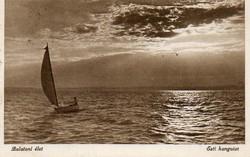 Ba 148 Körkép a Balaton vidékről a XX.század közepén .Esti hangulat (Monostory fotó)
