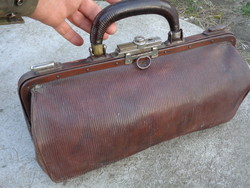 Antik orvosi táska - ritkaság!