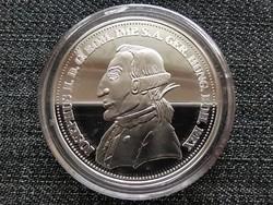 Királyi Koronák Utánveretben II. József 5 korona .999 ezüst PP (id23491)