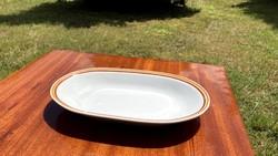 Alföldi barna csíkos virslis tányér sültes tál ovális retro