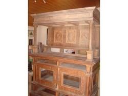 Antique sideboard, sacristy cabinet