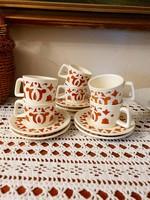 Antik Gránit kávés készlet